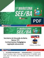 Júlio Oliver - Conhecimentos Pedagógicos - 1º Maratona - SEEBA