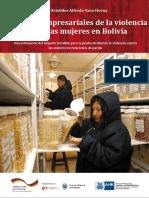 Estudio de costos empresariales de la VCM en  Bolivia.