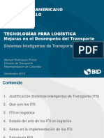 20151104 ITS Tecnologías Logistica BID Manuel R