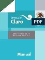 Manuel Lenguaje Claro