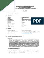 Silabo de Quimica Analitica UPSC (Emprendedor)