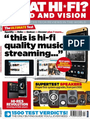 What Hi-Fi Sound and Vision UK Apr2014 | Loudspeaker | Audio