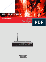Fortinet Fortiwifi 60 Instruccion de Instalacion