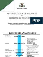 Automatizacion de Maquinas y Sistemas