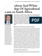 Land Question South Africa