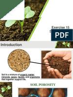 Exercise 15 Soil Porosity