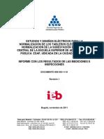 Normalizacion de Tableros y Subestacion Esap Bogota