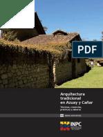 Arquitectura Tradicional en Azuay y Cañar