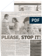 Marital Conflict - Article by Seema Lal - Pune Mirror 10 / 07 /08