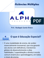 AEE e Deficiencias Multiplas