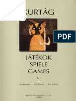 Kurtag - Giochi Vol.6
