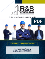 Temario Fiscalizacion Obras Electricas_CURSO CAPACITACION