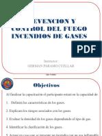 Prevencion de Incendios Con Gases y Liquidos Inflamables
