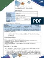 Guia de Actividades y Rubrica de Evaluacion - Fase 3-Desarrollo