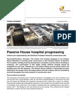 Passive Design for hospitals