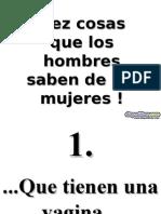 QueConocenLosHombres-www Diapositivas com