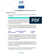 Guía Generar La Solicitud Digital de Tramcedprofes14ultm_51114