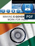Making E-Governance Work for India