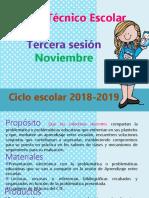 Tercera Sesion Cte 2018 Preescolar
