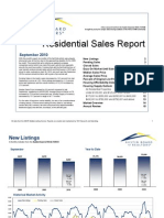 September 2010 Austin Real Estate Market Stats