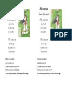 A Los Prados Verdes Clase Dos Unidad 4