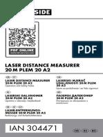 Laserski mjerač udaljenosti