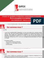 GIFEX Présentation Expoprotection 2016-16-9