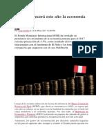 Aumento de Economía en Peru