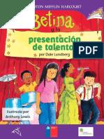 Betino y La Presentación de Talentos