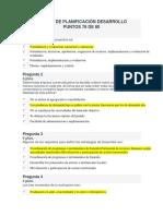 Examen de Planificación Desarrollo (1intento)