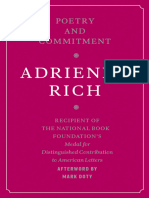 Adrienne Rich Poetry and Commitment 1