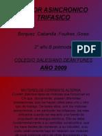 Motor Trifásico Asíncrono [Colegio Dean Funes C.D.F.]