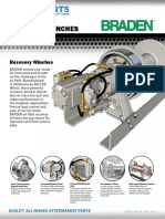 Braden Oil Field Recovery Winches
