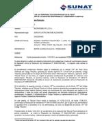 Carta Comuncado Recurso Aclaración INVERSIONES F&Z SA