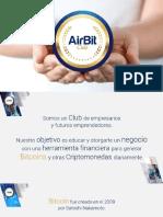 Airbit Club - Presentacion Del Negocio