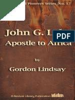 Lindsay John g Lake Apostle to Africa [17]