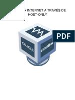 Acceso a Internet a Través de Host-Only