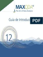 Getting Started Guide MAXQDA12 Esp