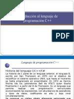 Intro Ducci on Cpp