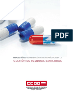 Manual Basico de Prevencion y Buenas Practicas en La Gestion de Residuos Sanitarios