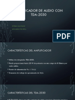 Amplificador de Audio Con Tda-2030