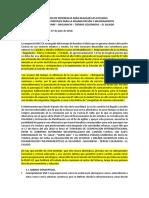 TDRs - Términos de referencia