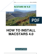 How to Install MACSTARS W 4.0