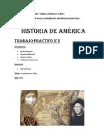 Historia de America. TP 3