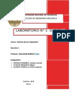 Informe Ciencia de Los Materiales - Dureza (Preliminar)