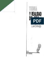 LAIN ENTRALGO Pedro Teoria y Realidad Del Otro Vol 1 El Otro Como Otro Yo Nosotros Tu y Yo