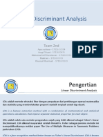 Linear Discriminant Analysis