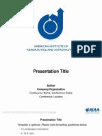 AIAA Presentation Template 22May2018_16x9