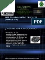 AIRE ACONDICIONADO Y FROSTER (DEFROSTER).pptx