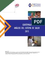 Guatemala Analisis Del Sector Publico Salud Esp INFORME COMPLETO FINAL Abr2016 (1)